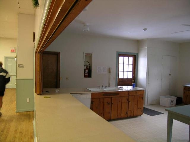 Main Room and Kitchen Opening